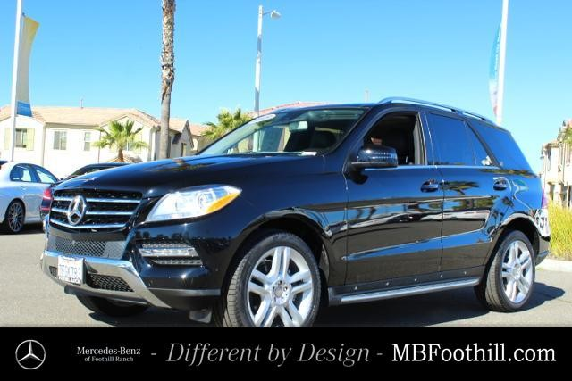 Certified Pre-Owned 2015 Mercedes-Benz M-Class RWD 4dr ML 350