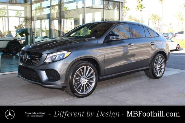 New 2018 mercedes benz gle amg gle 43 coupe coupe in for Mercedes benz foothill ranch service specials