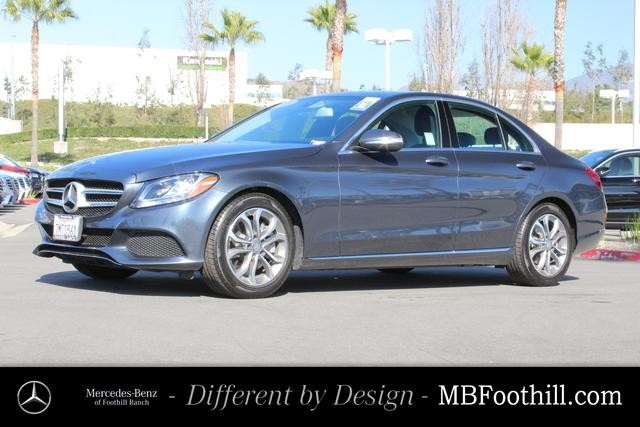 Certified Pre-Owned 2015 Mercedes-Benz C-Class 4dr Sdn C 300 RWD
