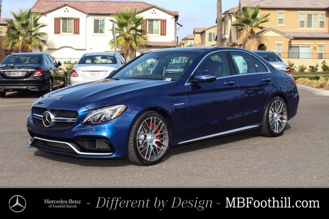 New 2018 mercedes benz c class amg c 63 s sedan sedan in for Mercedes benz foothill ranch service specials
