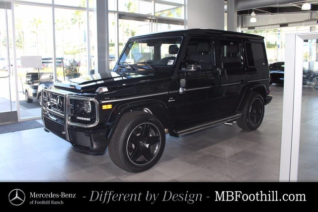 New 2017 mercedes benz g class g 63 amg suv suv in for Mercedes benz foothill ranch service specials