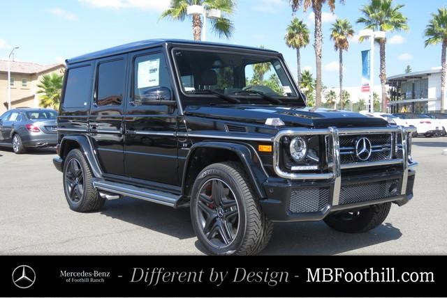 New 2018 Mercedes Benz G Class Amg G 63 Suv Suv In Foothill Ranch