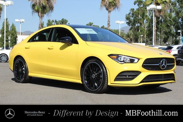 New 2020 Mercedes Benz Cla 250 Coupe