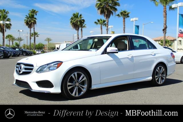 Certified Pre-Owned 2015 Mercedes-Benz E-Class 4dr Sdn E 350 Sport RWD