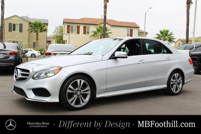 Certified Pre-Owned 2016 Mercedes-Benz E-Class 4dr Sdn E 350 Sport RWD