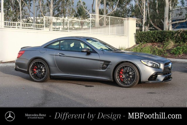 New 2018 mercedes benz sl amg sl 63 roadster roadster in for Mercedes benz foothill ranch service specials