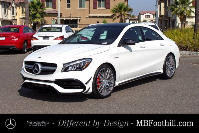 New 2018 mercedes benz cla cla 45 amg coupe coupe in for Mercedes benz foothill ranch service specials