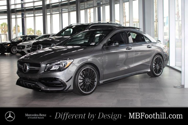 New 2018 Mercedes Benz Cla Amg Cla 45 Coupe Coupe In Foothill Ranch