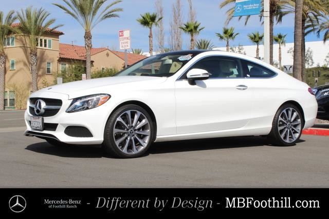 Certified Pre-Owned 2018 Mercedes-Benz C-Class C 300 Coupe