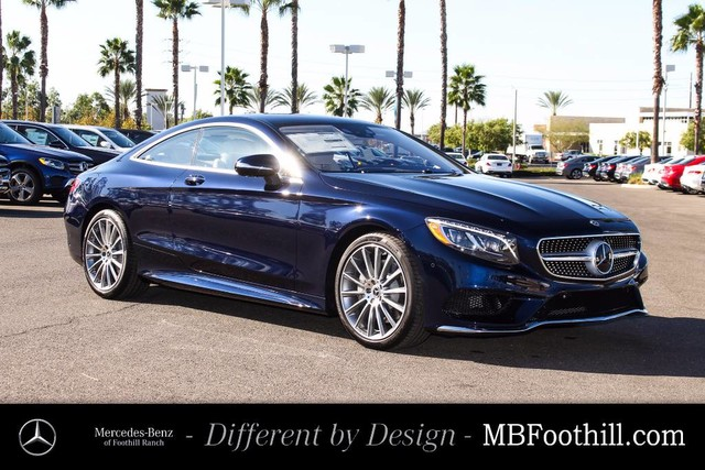 New 2017 mercedes benz s class s 550 coupe in foothill for Mercedes benz foothill ranch service specials